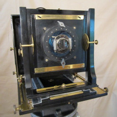 "Century Universal ""Black Ebony"" 8x10 Wood Field Camera with Vignetter Mount - SOLD"