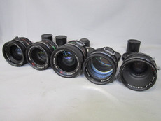 Zeiss Super Speed T1.4 Lens Set - Arriflex Mount + PL Mount
