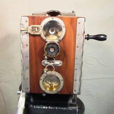 Wood Debrie Parvo Hand Crank 35mm Movie Camera (No 1184) - SOLD