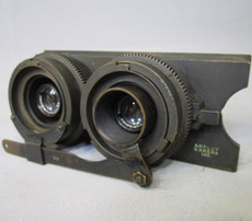 Geared Zeiss Tessar 2.7/35mm Lens for Akeley Hand Crank 35mm Movie Camera