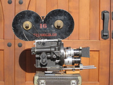 JA Ball Technicolor System 3 (No. 28) Hand Crank 35mm Movie Camera + Accessories