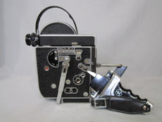 1965 Bolex Rex-4 Reflex H8mm Movie Camera Package (No 219416)