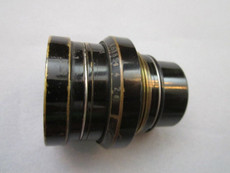 Cooke Speed Panchro f2/50mm Lens Block with Aperture for 35mm Movie Camera (No 224902)