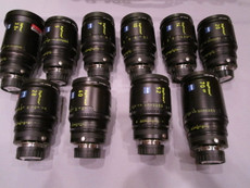 Zeiss Distagon DigiPrime Cine 10 Lens Set | B4 Mount | HD Lens | Zeiss Distagon | Zeiss Lenses