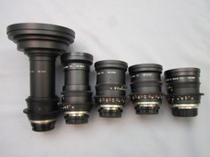 Canon T1.5 DigiPrime EJ Cine 5 Lens Set (B-Mount) for 2/3 HD Cameras- IN STOCK - 2K | B4 | Red | Epic