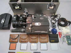 Arriflex SRII Super-16 Movie Camera Package | Zeiss Super 16 | CEI Crystal Speed Control