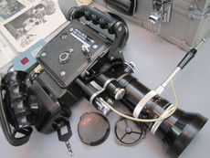 Bolex H16 EBM Electric (No 302812) Camera Package | Super 16mm Camera | Zoom Lens
