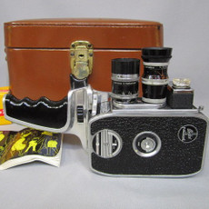 Bolex H8-SL 8mm Movie Camera with Bolex Handle