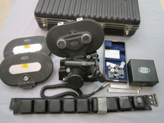 SOLD - Arriflex BL 16mm Movie Camera Package | Sound Module