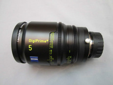 Zeiss DigiPrime Cine T1.5/5mm Cine Lens | B4 Mount | HD Lens | Zeiss Lenses