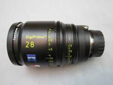 Zeiss Distagon DigiPrime Cine T1.5/28mm Cine Lens | 2K | B4 Mount | HD Lens | Zeiss Distagon | Zeiss Lenses