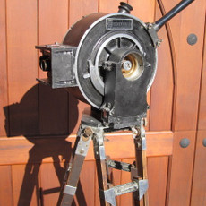 Akeley Hand Crank 35mm Movie Camera
