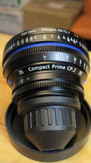 Zeiss CP2 T2.1/35mm Compact Prime Lens | PL Mount | HD Lens | 35mm Lens | Zeiss Lenses