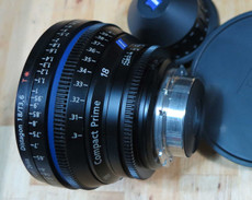 Zeiss CP2 T2.1/18mm Compact Prime Lens | PL Mount | HD Lens | 35mm Lens | Zeiss Lenses