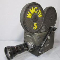 Bach Auricon 16mm TV News Camera
