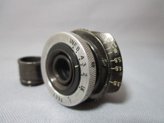 "Super 16 ""Old Film Look"" Taylor Hobson Cooke 3.5/25mm C-Mount Lens 