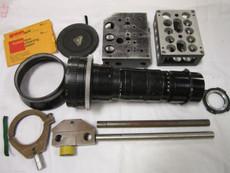 Angenieux Cinema 2.3 / 25 - 250mm BNC Mount Zoom Lens (No 1278013) | 35mm Movie Camera Lens | Vintage Movie Lens