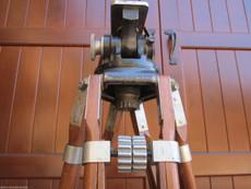 Camera Equipment Co. Antique Wood Tripod | Vintage Camera Tripod