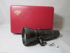 Super 16 Angenieux 2.8 / 15 - 150mm C Mount Zoom Lens (No 1167255) | Black Magic Camera Lens | Movie Camera Lens