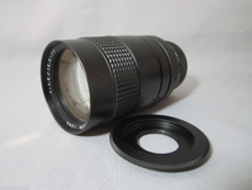 NEW Modified Computar 1.2/12.5-75mm C-Mount Lens + BPCC 4/3 Adapter