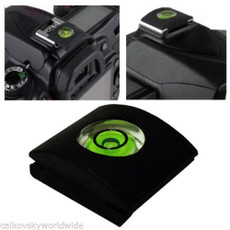 Hot Shoe Bubble Spirit Level Cover Protector Cap for Canon Nikon DSLR Cameras