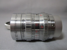 Super-16 Taylor Hobson 1.9 / 25mm C-Mount Lens (No 587090) | BMPCC Lens | 16mm Movie Camera