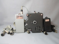 Bolex ESM 12V Crystal Sync Motor Set | 16mm Movie Camera