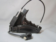 Swiss Black Bolex EL Electric Declic Handle for 16mm Movie Cameras
