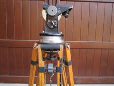 Huge Professional ARRI Arriflex Wood Tripod + Head for 16mm and 35mm Movie Cameras