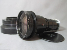 Angenieux 2.2 / 9.5 - 95mm PL-Mount Adapter on Arri-Bayo Mount Zoom Lens (No 1369492) | 16mm Movie Camera Lens