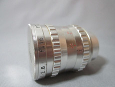MINT Super-16 Som Berthiot 1.8 / 16mm C-Mount Lens (No P74757)