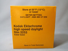 RARE Kodak Ektachrome High Speed Daylight Film 2253 for 35mm Movie Camera