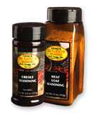 This blend of seasonings can be either sprinkled on meat after it is cooked, or used ahead of cooking as a marinade.