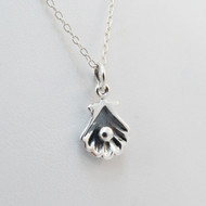 925 Sterling Silver Shell Necklace
