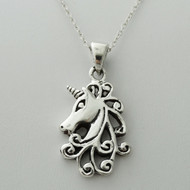 Unicorn Necklace - 925 Sterling Silver