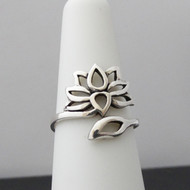 Lotus Ring - Sterling Silver