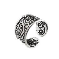 Spiral Filigree Ear Cuff Earring - Sterling Silver