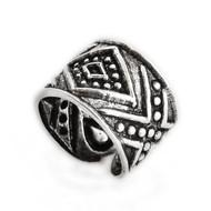 Aztec Ear Cuff Earring - 925 Sterling Silver