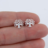Celtic Tree of Life Earrings - 925 Sterling Silver