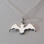Bat Necklace - 925 Sterling Silver