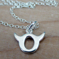 Taurus Charm Necklace - 925 Sterling Silver