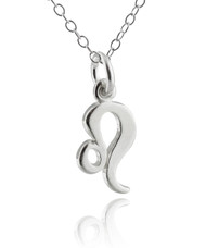 Leo Charm Necklace - 925 Sterling Silver