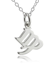 Virgo Necklace - 925 Sterling Silver Charm Necklace