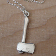 AXE - Sterling Silver Charm Necklace