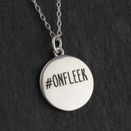 On Fleek Pendant Necklace - 925 Sterling Silver