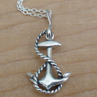 ANCHOR - Sterling Silver Charm Necklace