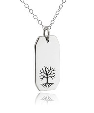 Tree of Life Pendant Necklace in 925 Sterling Silver