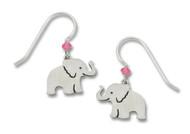 Sienna Sky Elephant Earrings - Sterling Silver Ear Wires