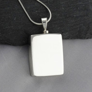 Memorial Urn Locket Necklace - 925 Sterling Silver