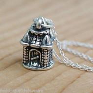 Castle Necklace - 925 Sterling Silver